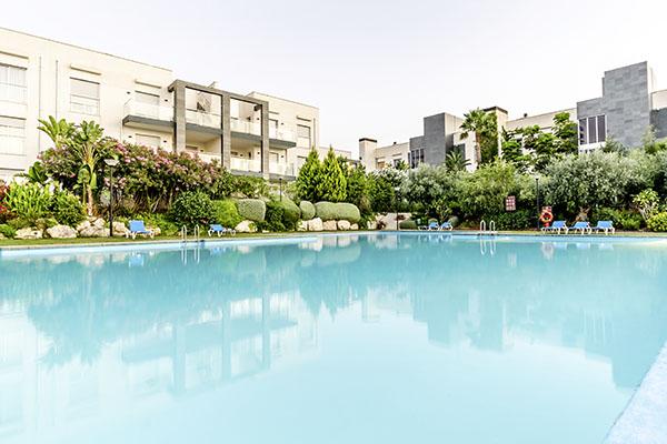 SunnyEscapes_Spanien_Alicante_El-Plantio-Golf-Resort_Anlage-mit-Pool_Long-Stay