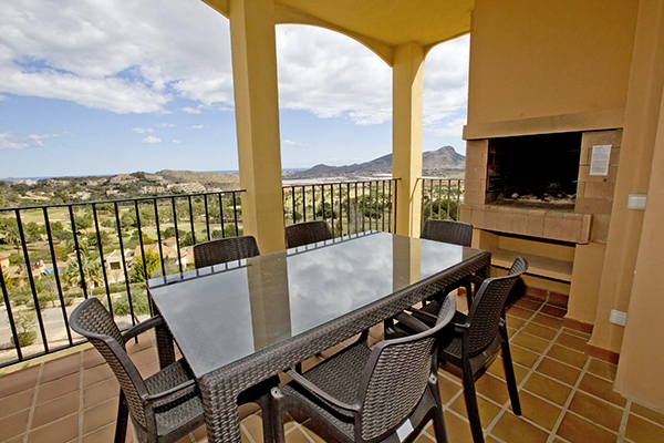 SunnyEscapes_Spanien_La-Manga-Club-Resort_Las-Lomas-Village_Apartment_Balkon_Long-Stay