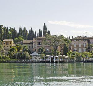 Italien - Der Ort Sirmione am südlichen Gardasee