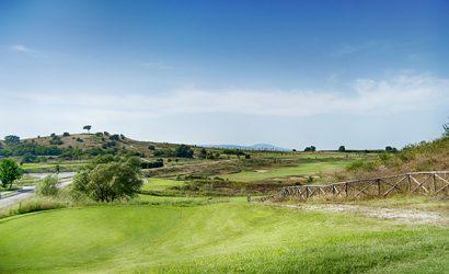 Golfplatz des Golf Clubs Terre dei Consoli Fairway 16