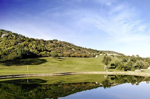 Spanien Valle Romano Golf Loch 12