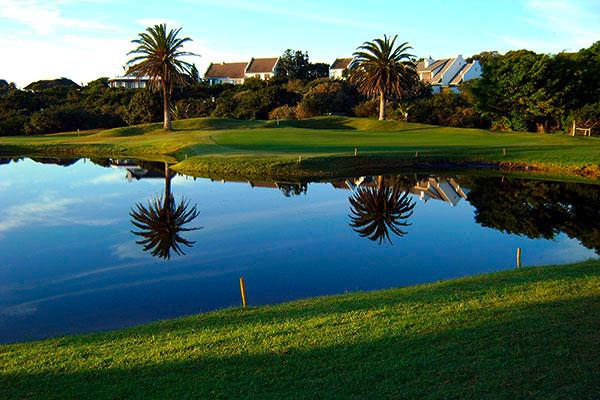 Suedafrika St Francis Bay Golf Club Loch 8