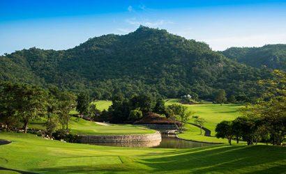 Hua Hin Black Mountain Resort Golfplatz Loch 11
