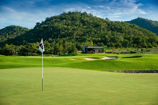 Hua Hin Black Mountain Resort Golfplatz