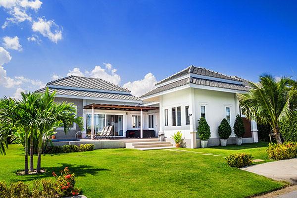 Hua Hin Black Mountain Resort Poolvilla Aussenansicht
