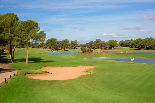 Spanien Mallorca Marriotts Clu -Son Antem Golfplatz