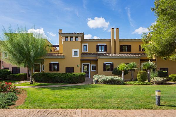 Spanien Mallorca Marriotts Club Son Antem Townhouse Ansicht