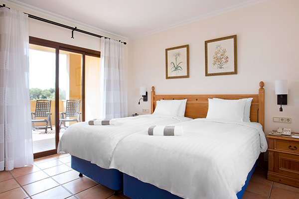 Spanien Mallorca Marriott's Club Son Antem Townhouse Schlafzimmer 3