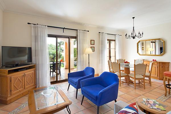 Spanien Mallorca Marriotts Club Son Antem Townhouse Wohnzimmer