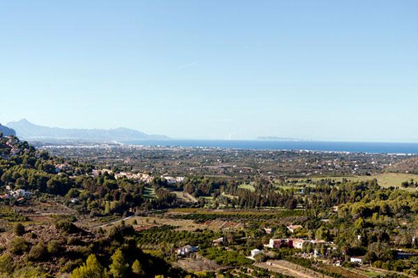Aussicht vom Golfplatz des La Selle Golf Resorts