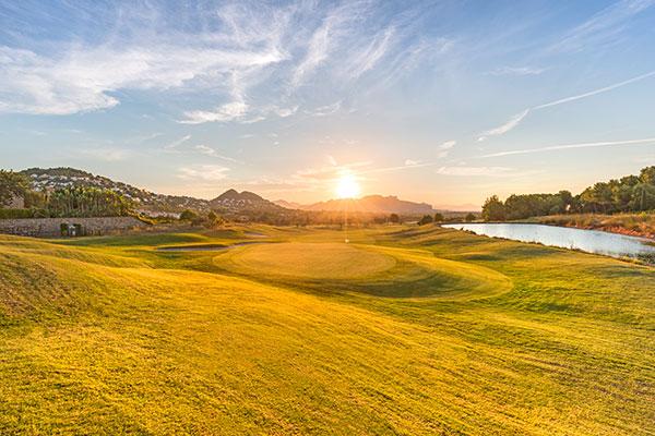 Der Golfplatz des Dénia La Sella Golf Resorts