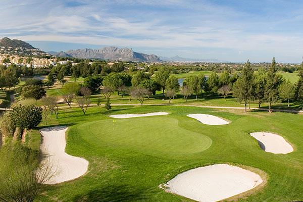 La Sella Golf Resort Blick auf denGolfplatz