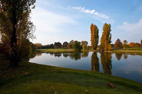 Italien Venetien Albarella Albarella Golf Links Fairway