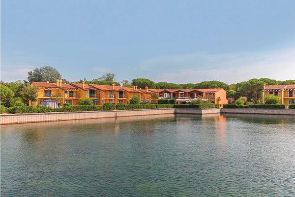 Italien Venetien Albarella Residences Fiordo Diamante Ansicht