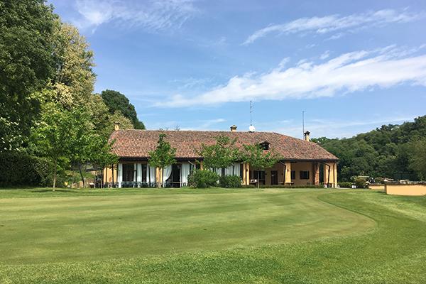 Italien Padua Golf Club Frassanelle Clubhaus
