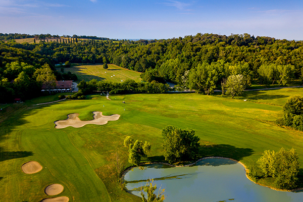 Italien Region Padua Golf Club Frassanelle Clubhaus