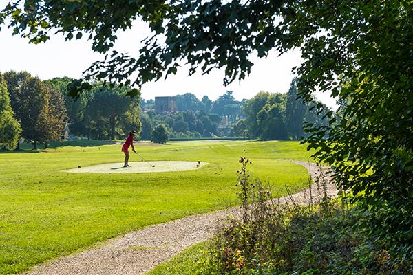 Italien Region Padua Golf Golf della Montecchia Spielbahn