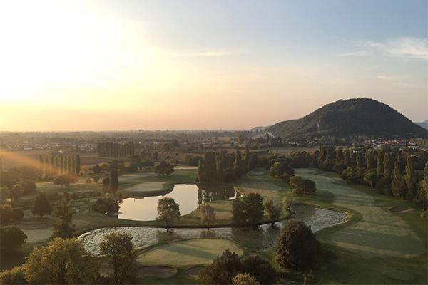 Italien Region Padua Golf Golf della Montecchia Clubhaus